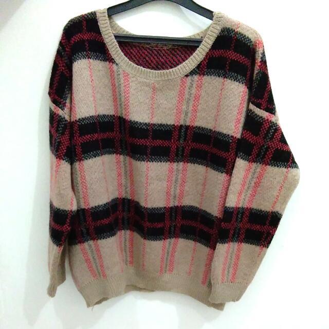 Korean Sweater - Preloved Like New