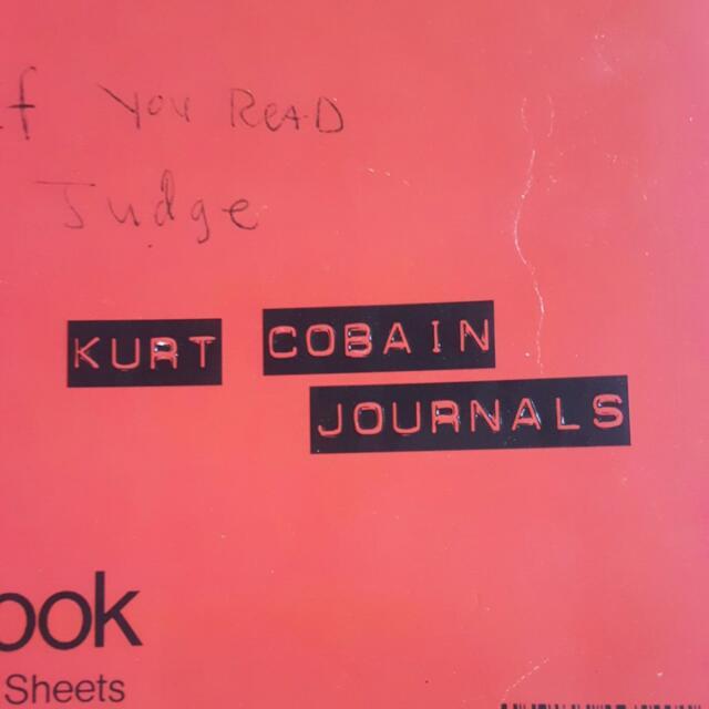 Kurt Cobain Journals