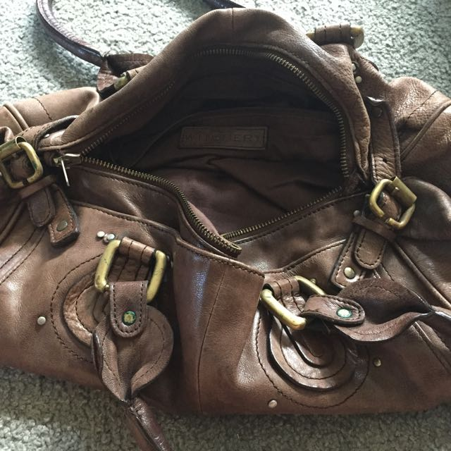 Leather Witchery handbag