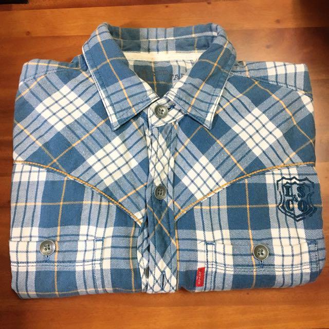 Levi's 長袖格紋襯衫