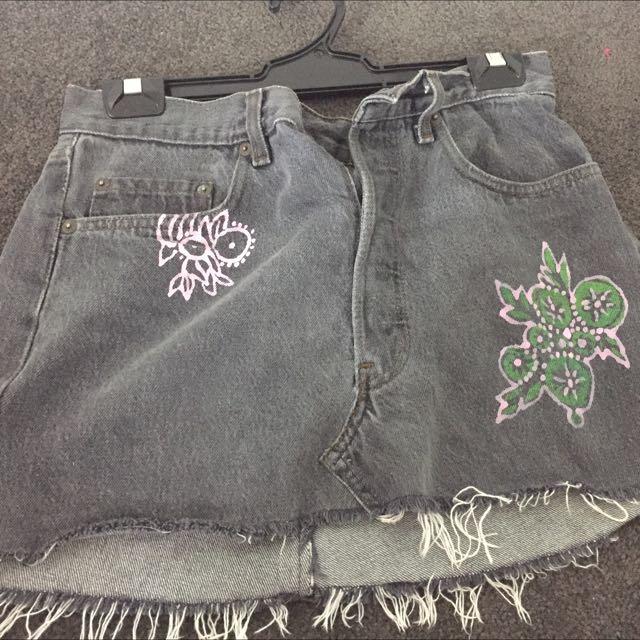 Levis Vintage Denim Skirt