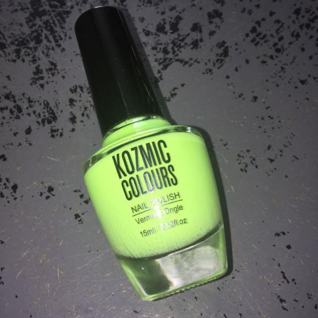 Lime Green Nail Polish
