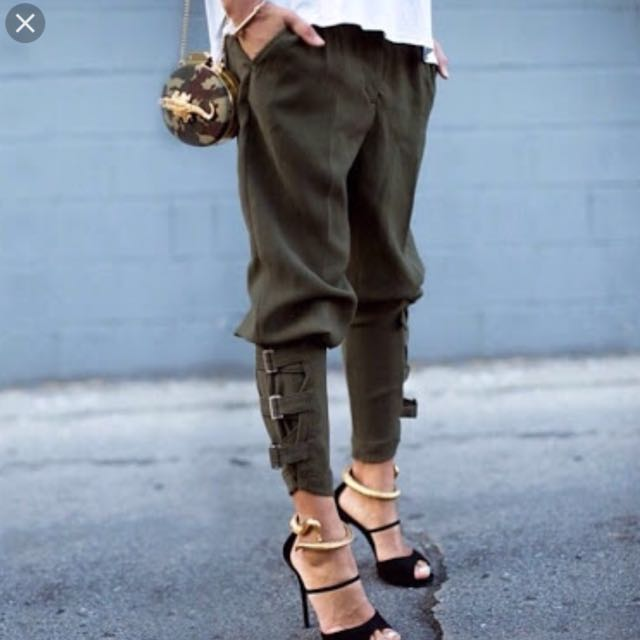Love Storey Boutique Jade Khaki Pants
