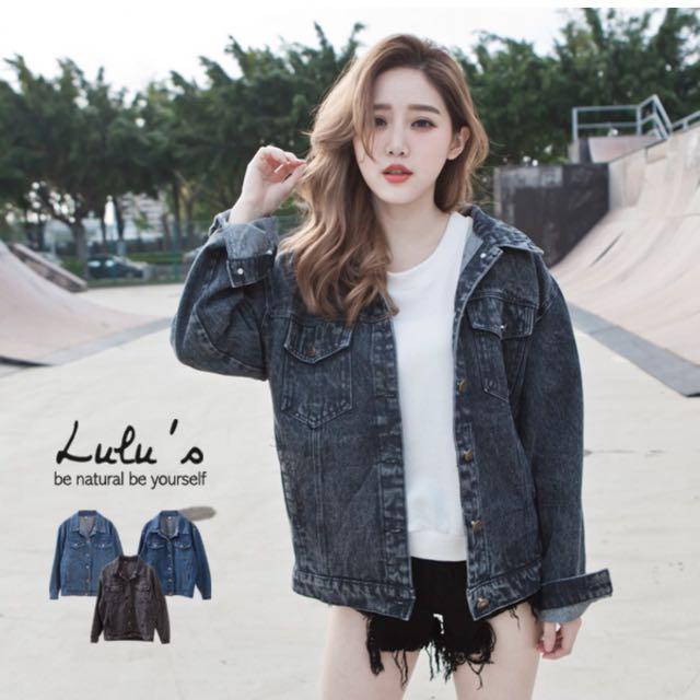 (降價)Lulus牛仔外套轉賣(黑色