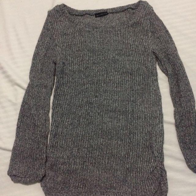 Maldita Gray Sweater