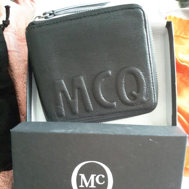 McQ  Alexander McQueen  Logo Leather Wallet