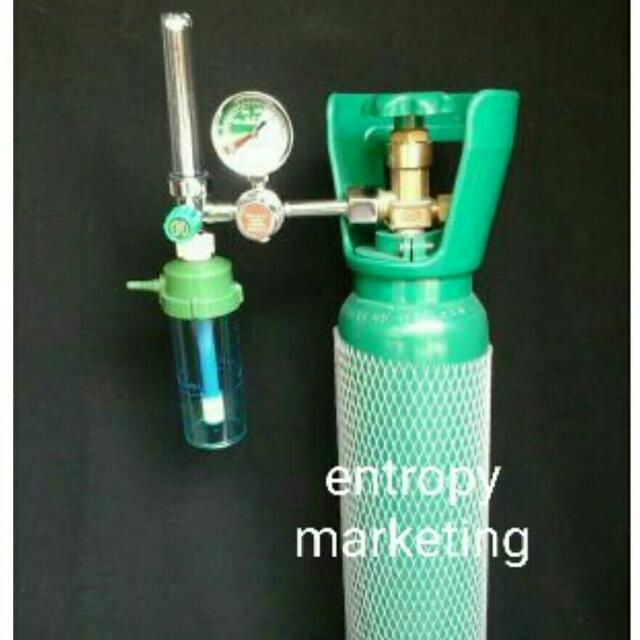Medical Oxygen Tank With Regulator
