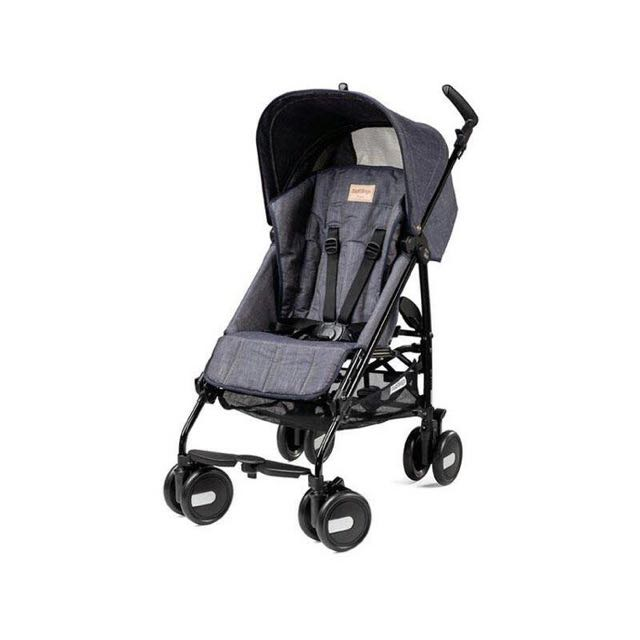 Mini Pliko Peg Perego Black Denim
