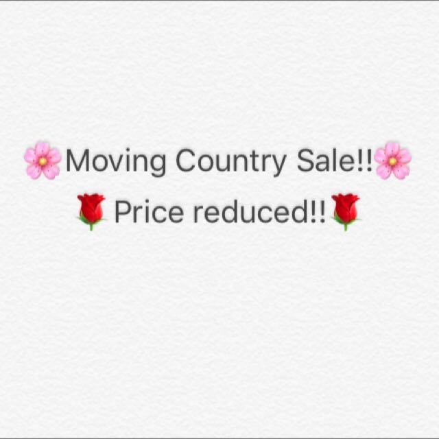 Moving Country Sale