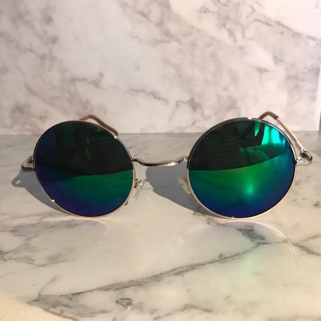 Multi Chrome Reflective Sunglasses