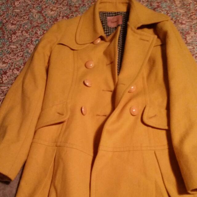 Mustard Winter Coat #under20