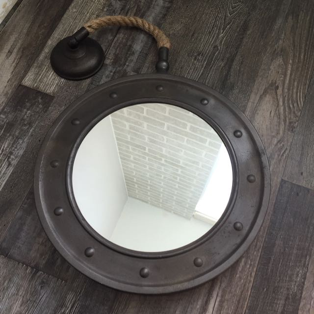Nautical Hanging Wall Mirror