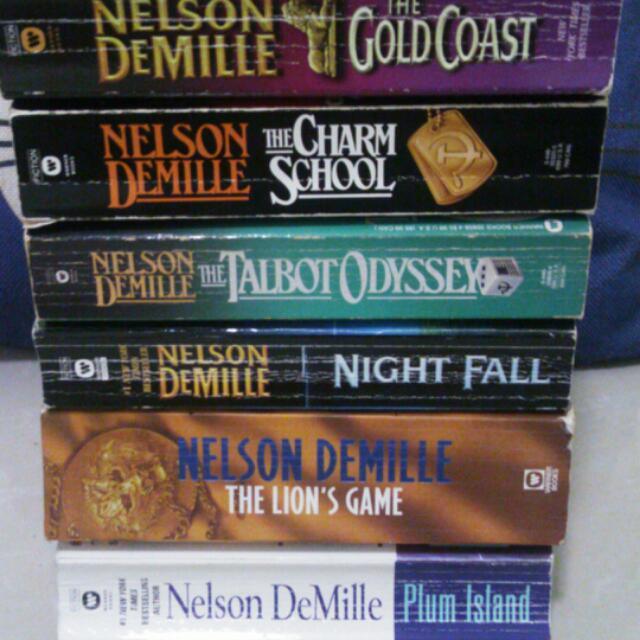 Nelseon DeMille Book Bundle