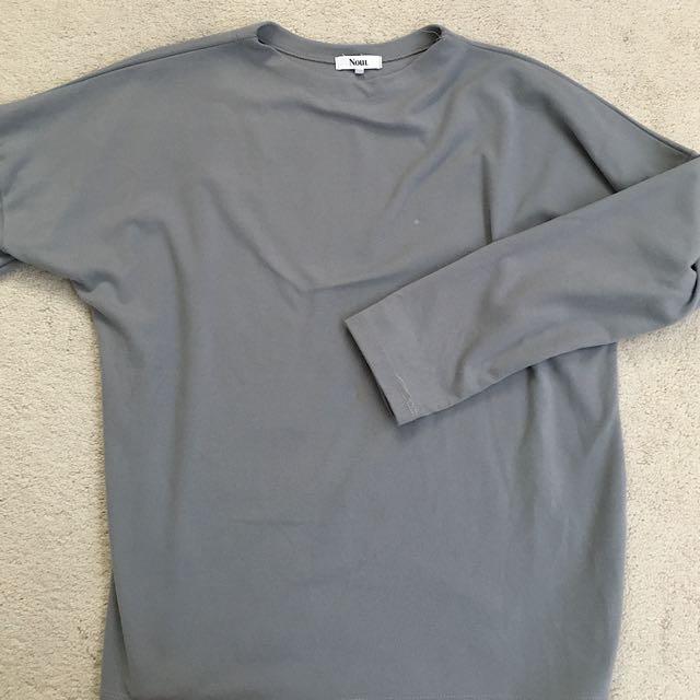 Oak & Fort Grey One Size Sweater