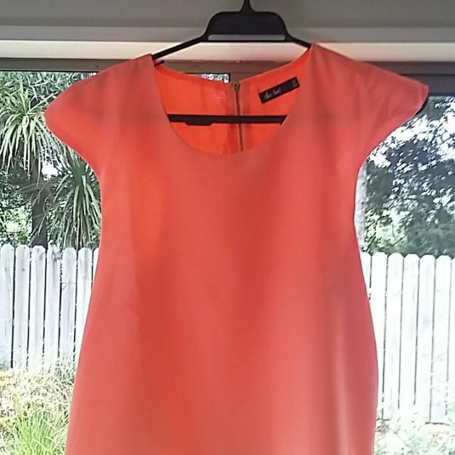 Orange Flow Top