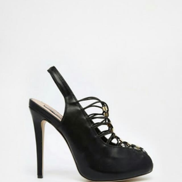Peep Toe Heels Size 8