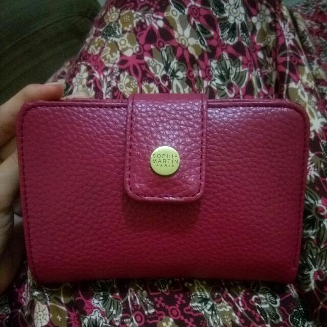 Pink Wallet By SOPHIE MARTIN PARIS