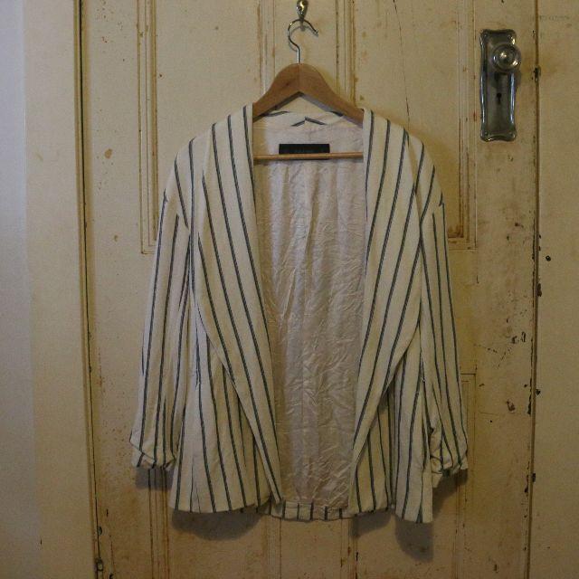 Pinstriped Blazer (Zara)