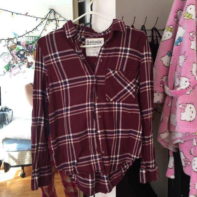 Plaid Shirt, Small