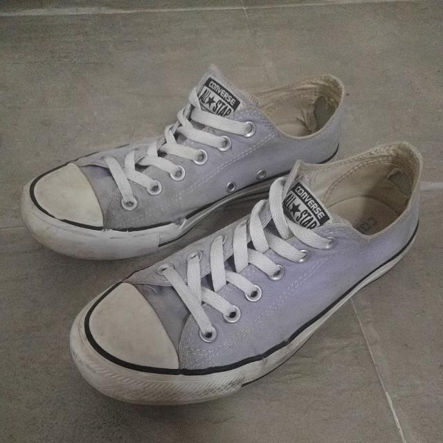 f797a6a405f1 ... official preloved authentic pastel purple converse womens fashion shoes  on carousell 7b813 d86af