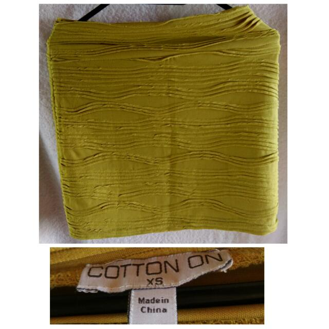 Preloved Cotton On Mini Skirt