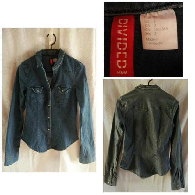 Preloved H&M Denim Jacket