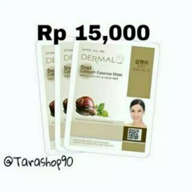 Promo Original face shop snail face mask by Tarashop90