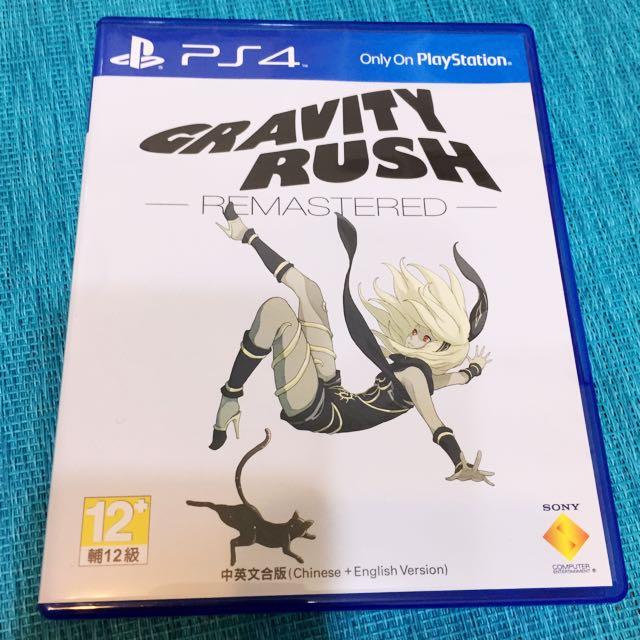 PS4_重力異想世界 Gravity Rush Remastered(中英文版)已拆封未使用