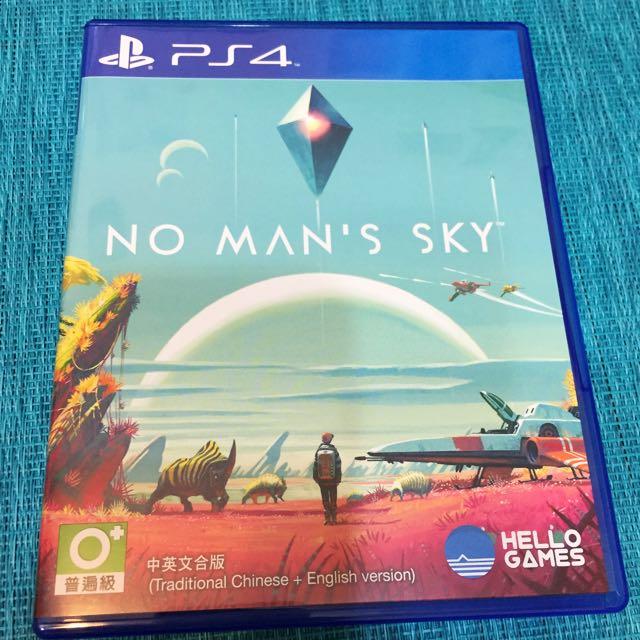 PS4_無人深空NO MAN'S SKY(中英文版)已拆封未使用