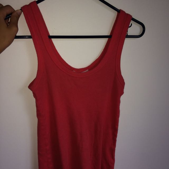 Red/Pink Supre Singlet