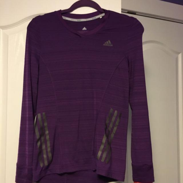 Reflective Adidas Long Sleeve