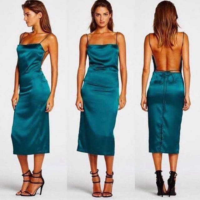 Satin Formal Dress PRICE DROP