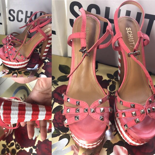 Schutz Shoes Size 37