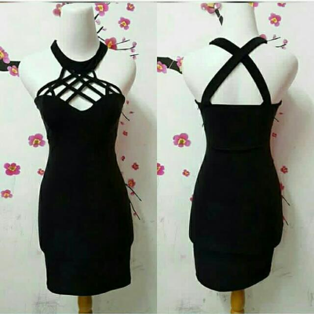 Sexy Dress Halterneck