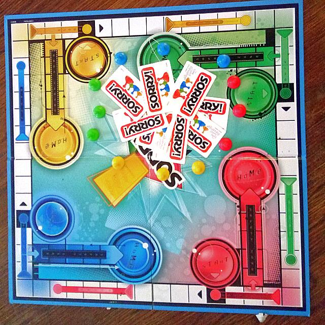 Sorry Game Board