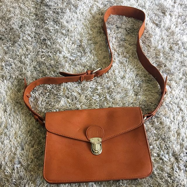 Sportsgirl Tan Bag