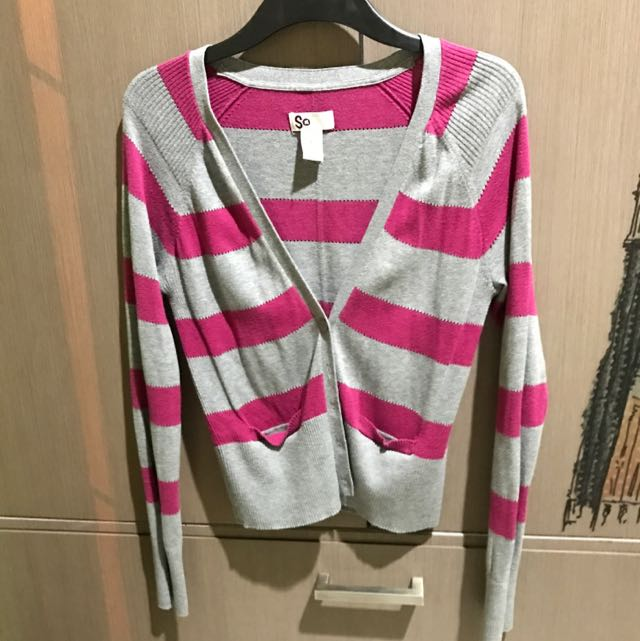 Stripes Cardigan