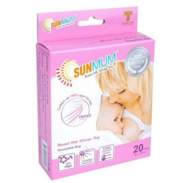 SunMum Breastmilk Storage Bag