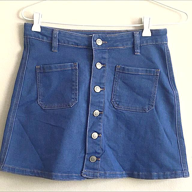 Supre Denim Mini Skirt