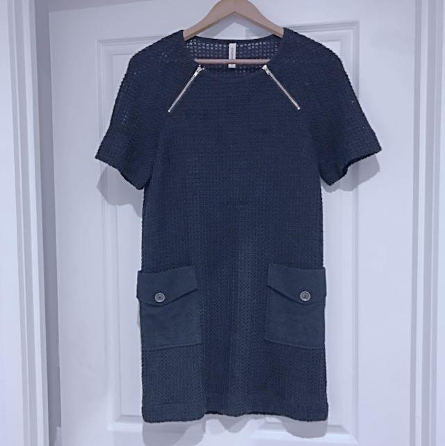 Sylvester Knitted Zipper Dress