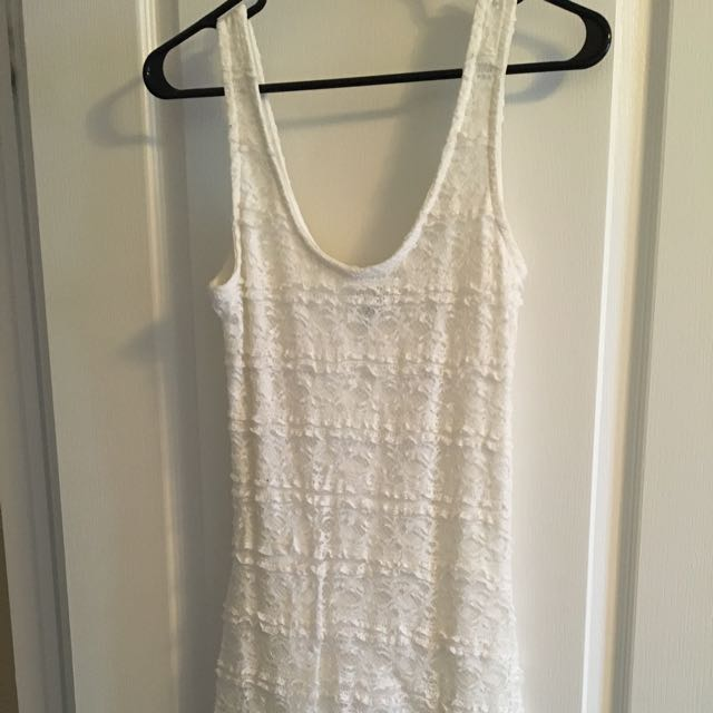 Sz Lrg Lace Dress