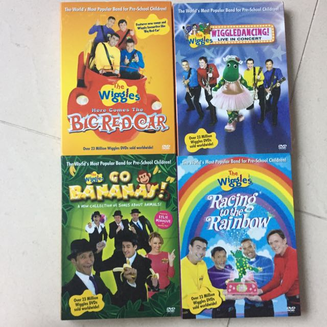 4 DVDs, Babies & Kids On Carousell