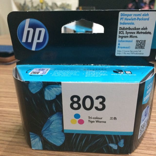 Tinta HP 803 Tri-colour