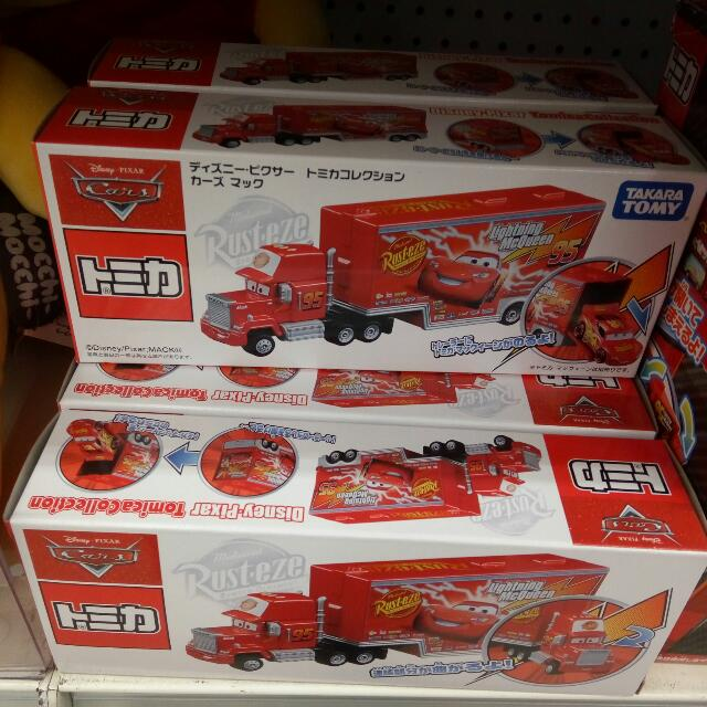 Tomica Mack Truck Bundle from Cars Movie (Rare Collection)