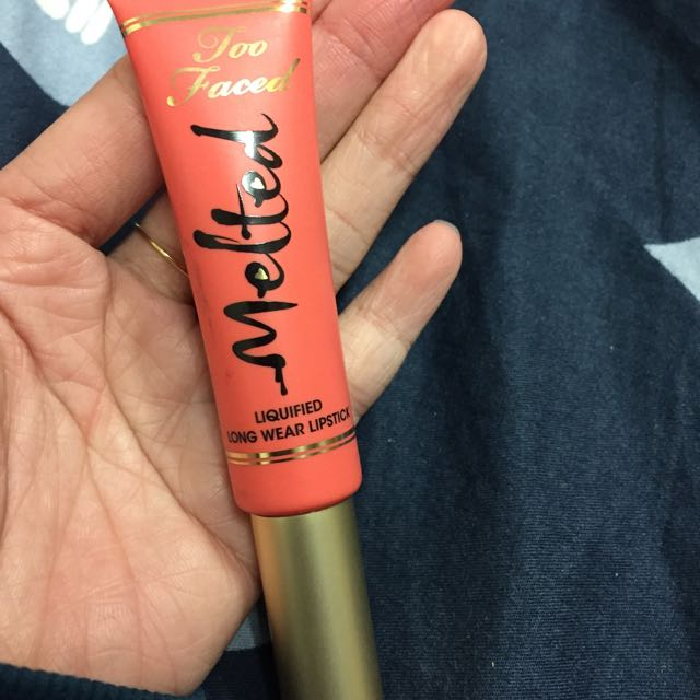 Too Faced 唇蜜#melted Coral