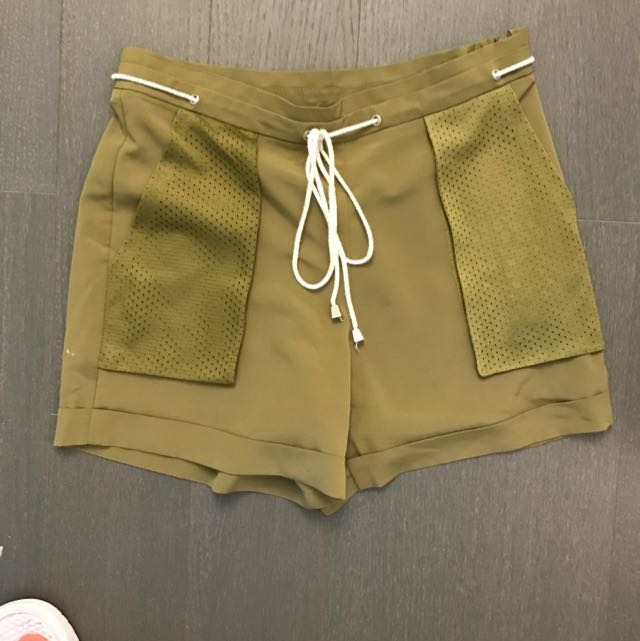 Topshop Khaki Shorts
