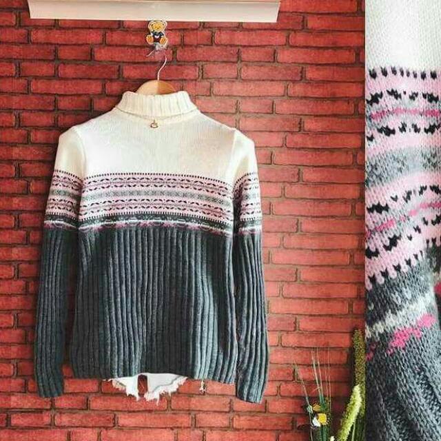 Turtleneck Soft Knitted Pullie