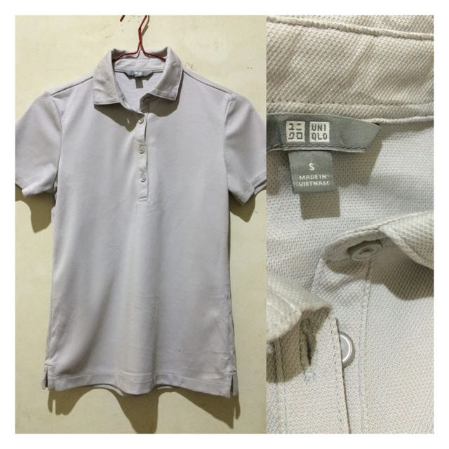 Uniqlo Grey Polo Shirt