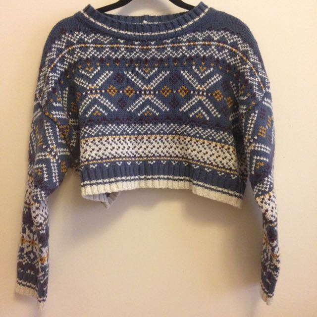 Urban Outfitters (BDG) Cropped Sweater
