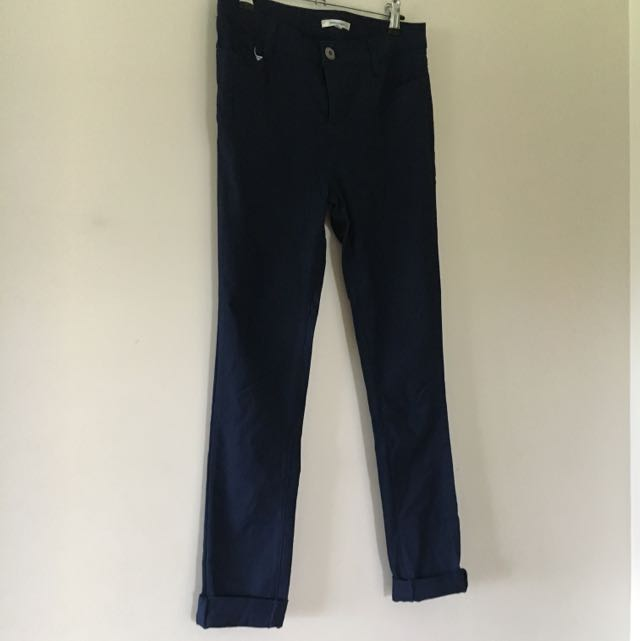 Valleygirl Navy Blue Skinny Jeans
